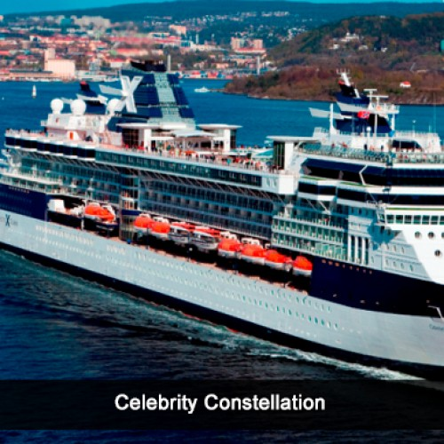 Celebrity Constellation arrives in style in Mumbai; guests enjoy an unforgettable evening