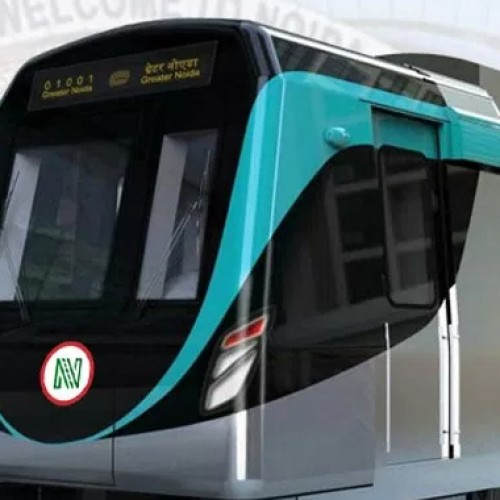 First Aqua line train arrives from China
