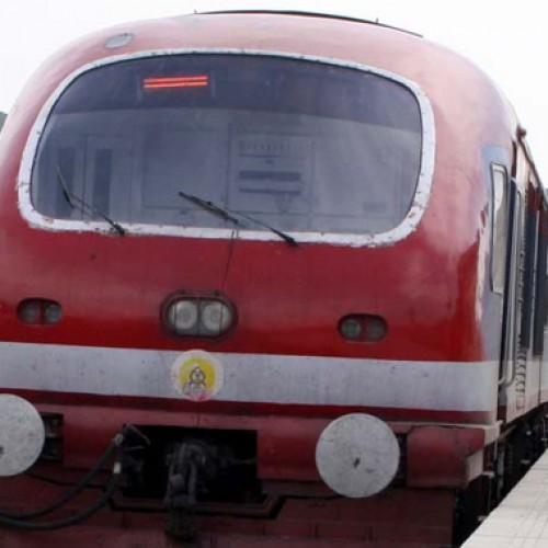 Rail service suspended again in Kashmir for security reasons