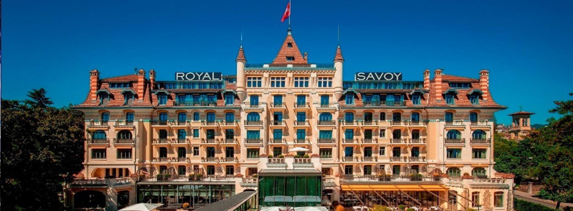 A palatial winter break awaits GCC visitors at the Royal Savoy Lausanne