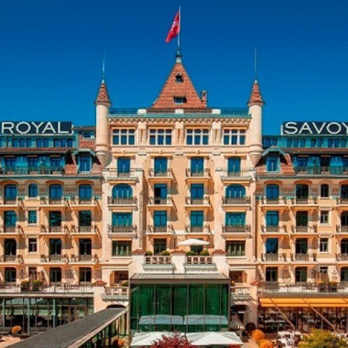 A palatial winter break awaits GCC visitors at the Royal Savoy Lausanne