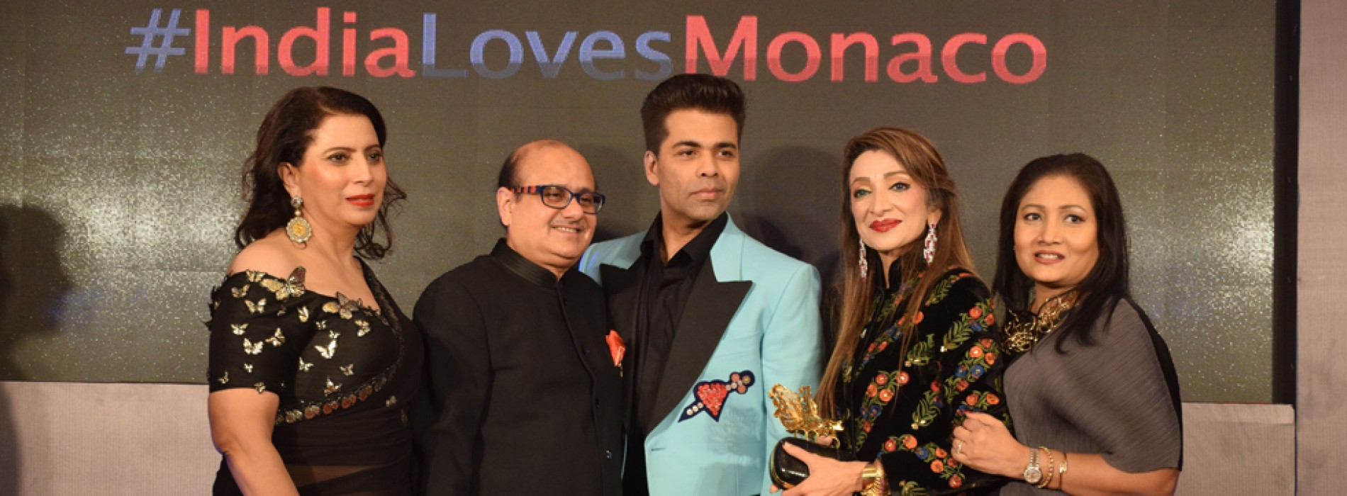 Visit Monaco celebrates New Year with Karan Johar and Millionaireasia India