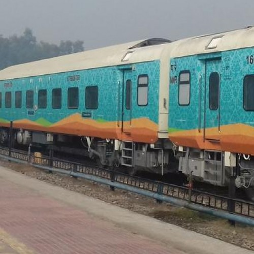 Humsafar Express takes off from Agartala to Bengaluru