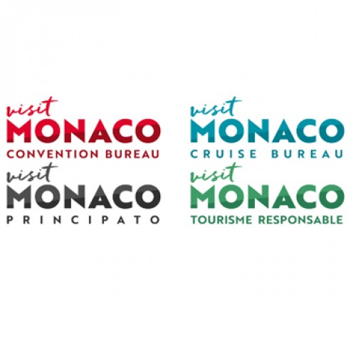 A New logo for Monaco Tourist and Convention Authority from 2018