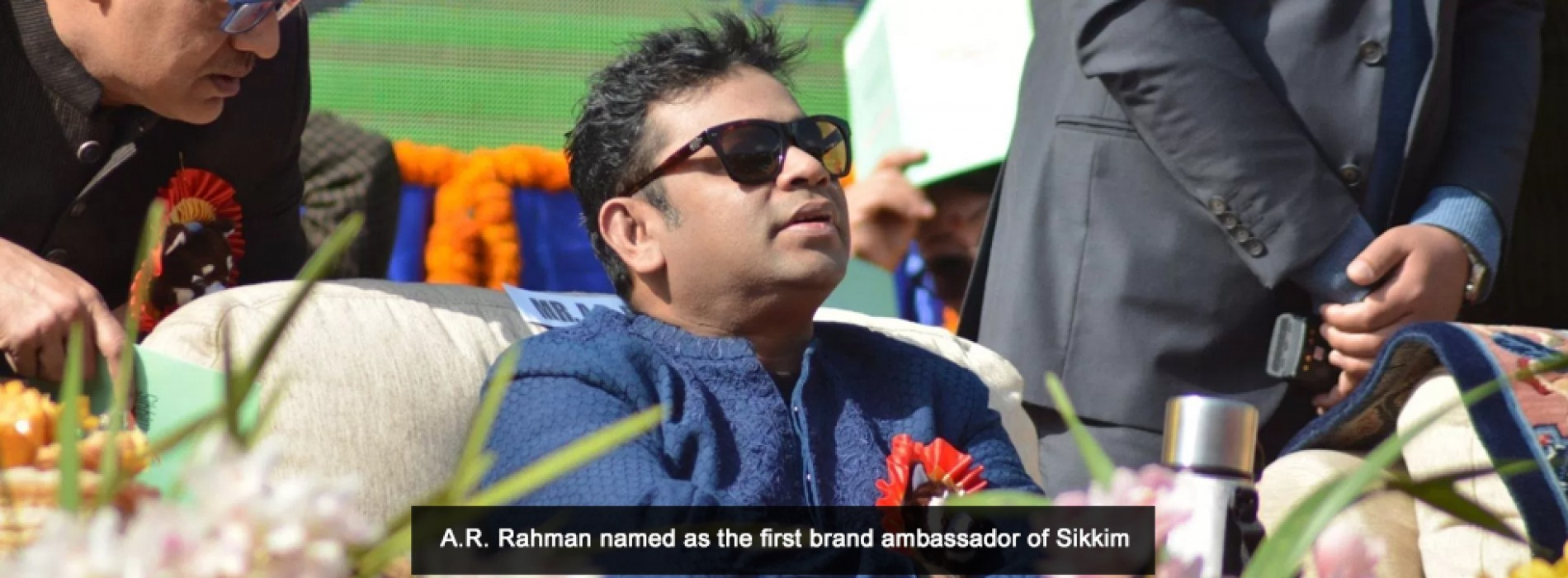 A R Rahman named as the brand ambassador of Sikkim