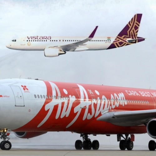 Tata airlines Vistara and AirAsia India gear up for international runways