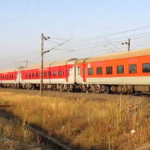 Mumbai-Delhi Rajdhani train gets a makeover under Indian Railways Operation Swarn