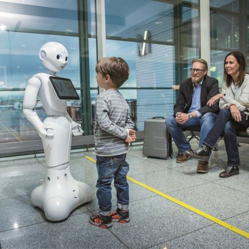 Munich Airport and Lufthansa start testing of humanoid robot in Terminal 2