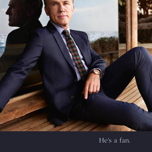 Christoph Waltz joins Mandarin Oriental as its latest celebrity fan