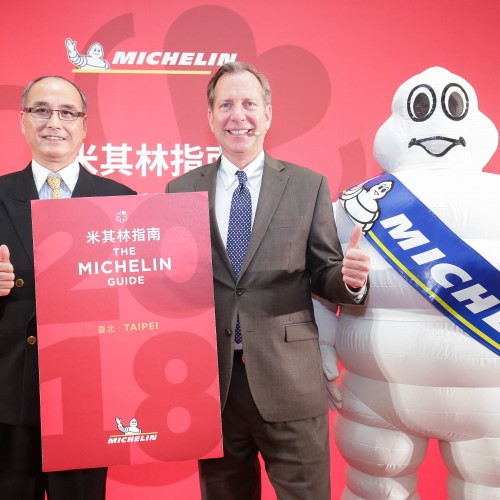 Le Palais gets three stars in the MICHELIN Guide Taipei 2018