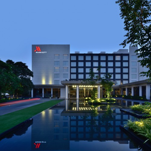 Indore Marriott Hotel titled as 'Best 5 Star Property of Indore'
