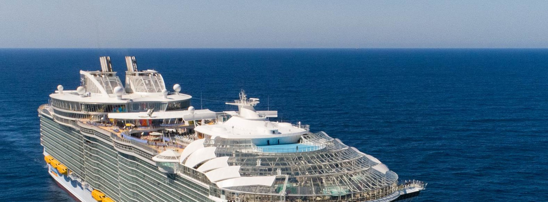 TIRUN Travel Marketing Royal Caribbean welcomes the world's largest cruise ship