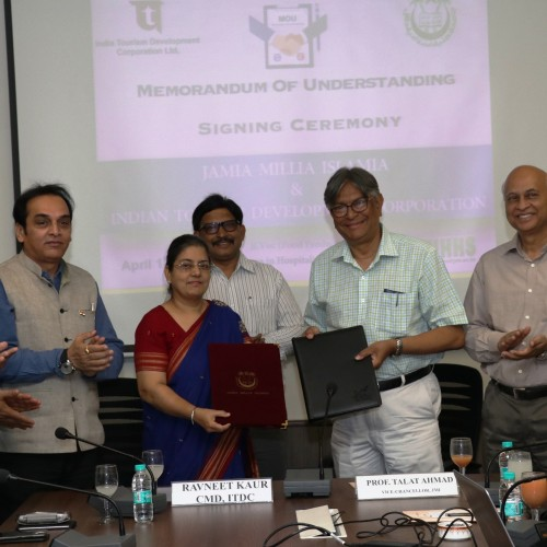 ITDC join hands with Jamia Millia Islamia University
