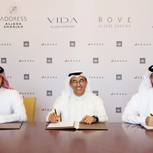 Emaar Hospitality Group and ARADA join hands to launch three distinctive hotels in Aljada