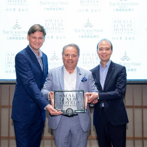 The Sukhothai Shanghai officially joins Small Luxury Hotels of the World