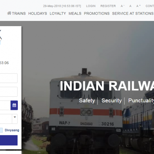 IRCTC.co.in website gets a facelift
