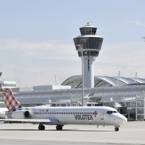 Volotea offers flights from Munich to Montpellier and Zaragoza
