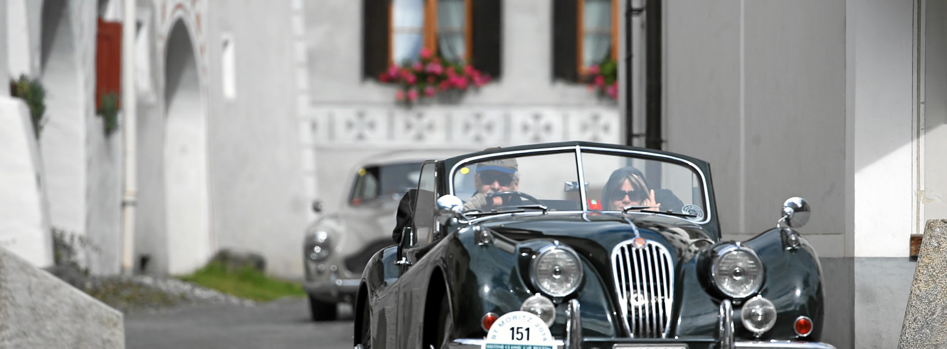 25th British Calssic Car Meeting in St. Moritz