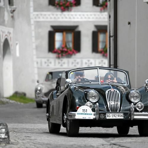 25th British Calssic Car Meeting in St. Moritz