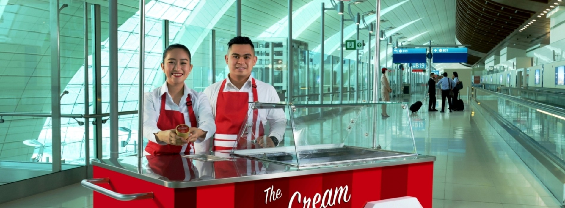 Summer just got cooler with Emirates' complimentary ice cream service