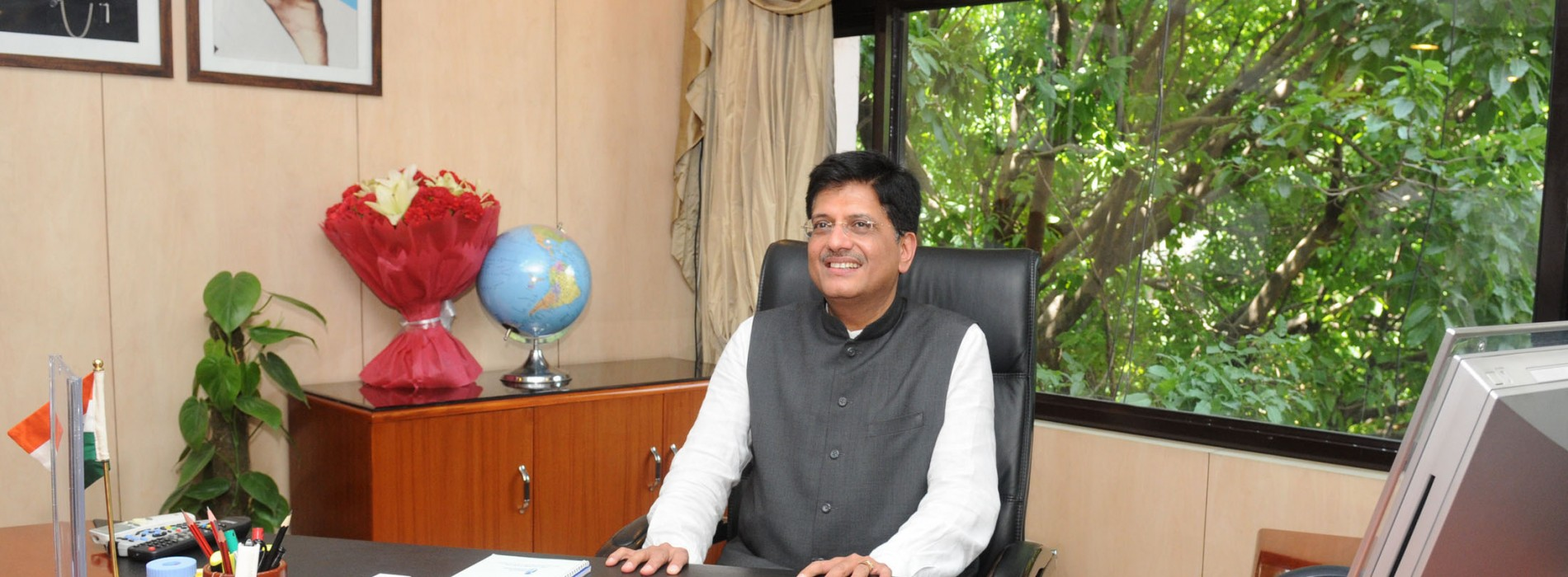 Govt facing no stress in acquiring land for bullet train project: Piyush Goyal
