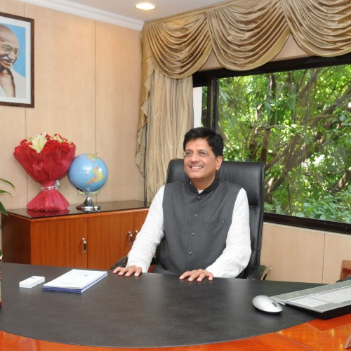 Our target is to turn railways profitable, double its revenue: Piyush Goyal