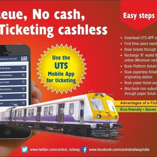 Indian Railways launches mobile app to book unreserved tickets