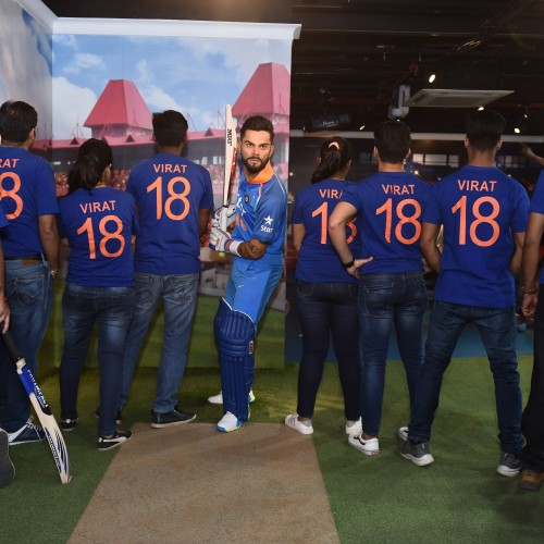 Virat Kohli now at Madame Tussauds Delhi