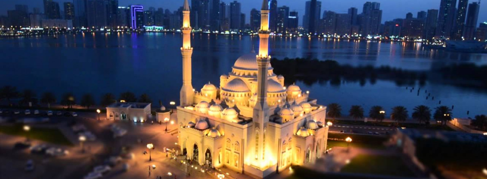 Explore the beauty of magnificent mosques of Sharjah
