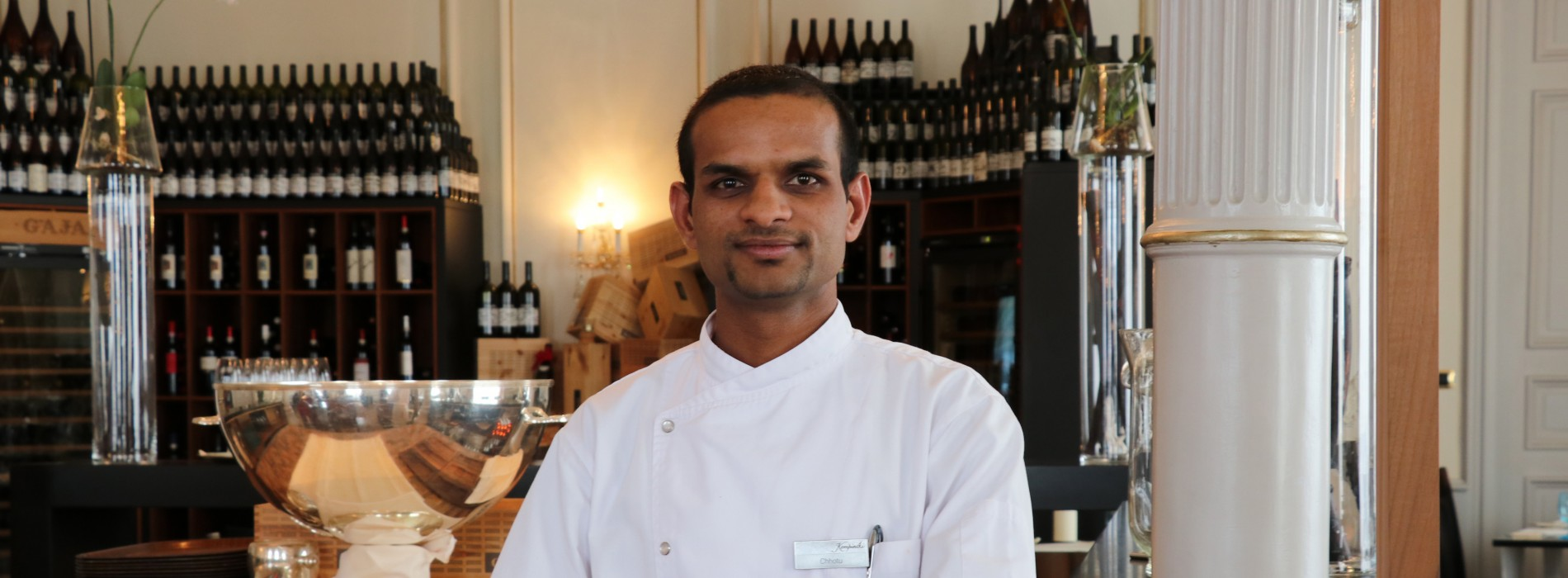 Kempinski Grand Hotel appoints Indian specialty Chef Chhotu Kahatik