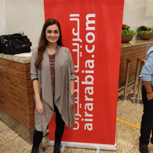 Dia Mirza visits Kenya with Air Arabia