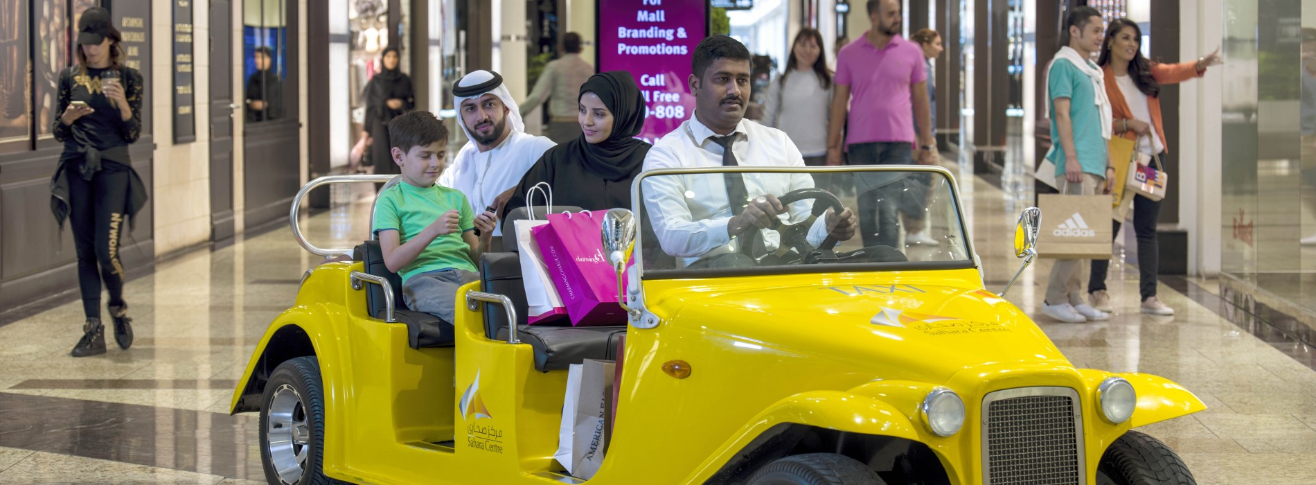 Enjoy Sharjah's shopping experience at its modern malls and traditional souks