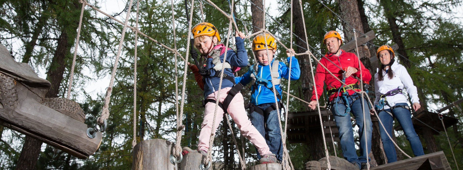 Spend this Summer exploring adventure activities with your family at St. Moritz
