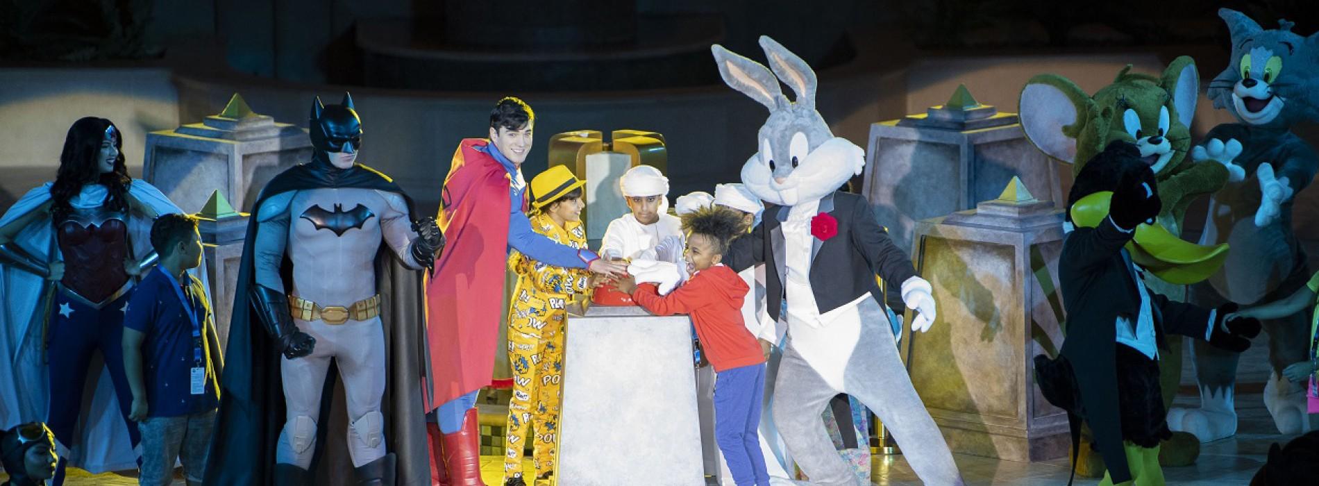 Warner Bros. World Abu Dhabi opens doors in Yas Island