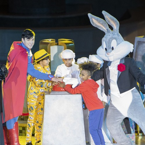 Warner Bros. World Abu Dhabi opens doors in Yas Island