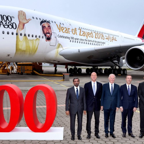Emirates is celebrating 10 years of A380 operations