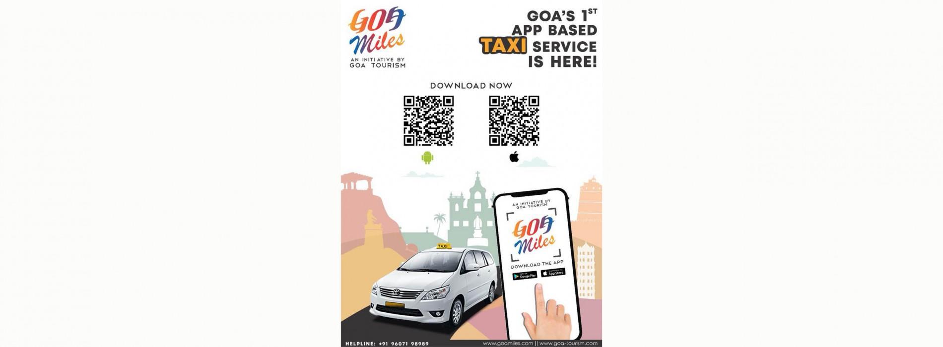 Goa CM launches GTDC's Taxi App 'Goamiles'