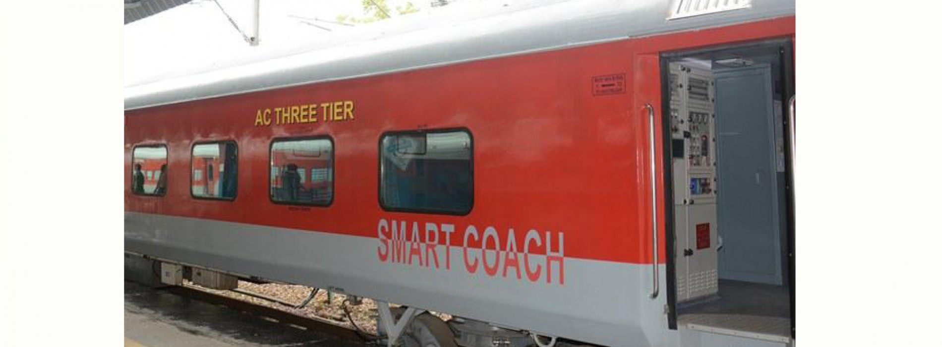 Indian Railways unveils country's 1st smart coach
