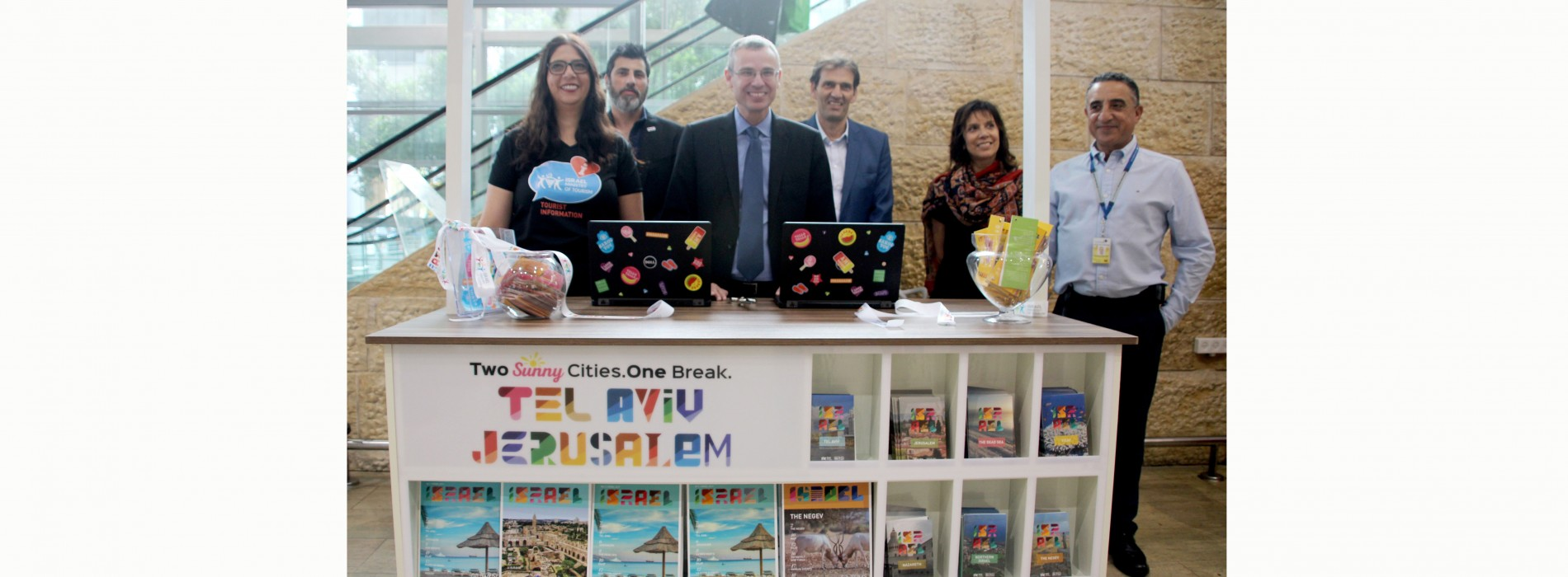 Israel Ministry of Tourism opens welcome desk at Ben-Gurion Airport