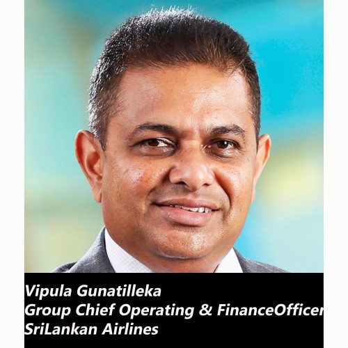 Vipula Gunatilleka appointed Group Chief Operating & Finance Officer of SriLankan Airlines