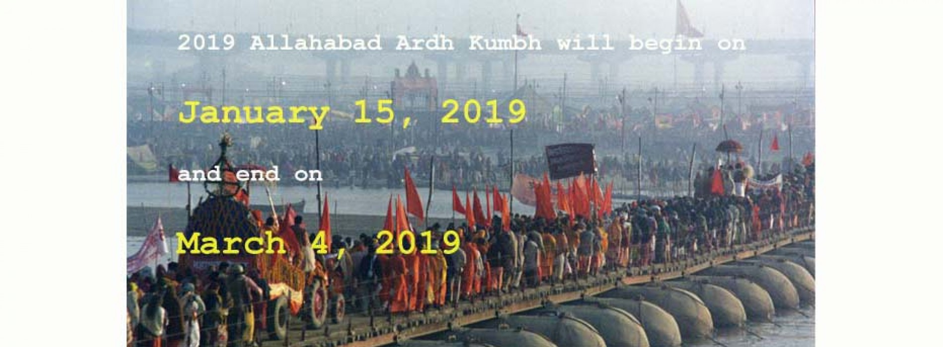 PM Modi to oversee Kumbh Mela preparations which will be held in Allahabad in 2019