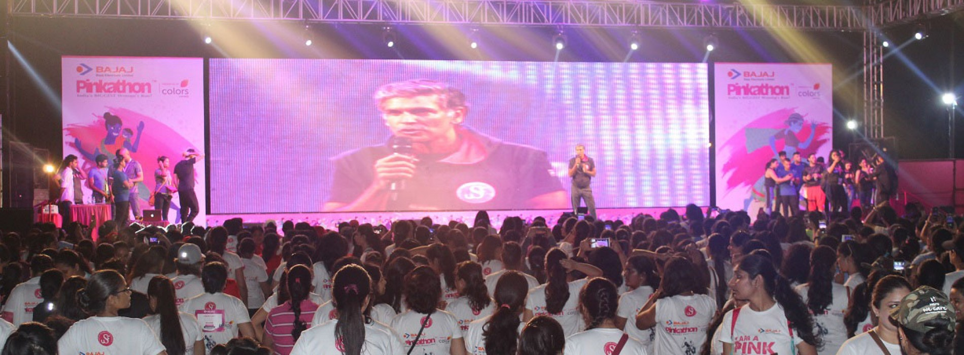 Aloft New Delhi Aerocity shows support for the 6th edition of Pinkathon