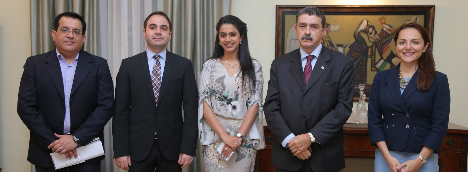 Turkish Ambassador hosted high tea at his official residence