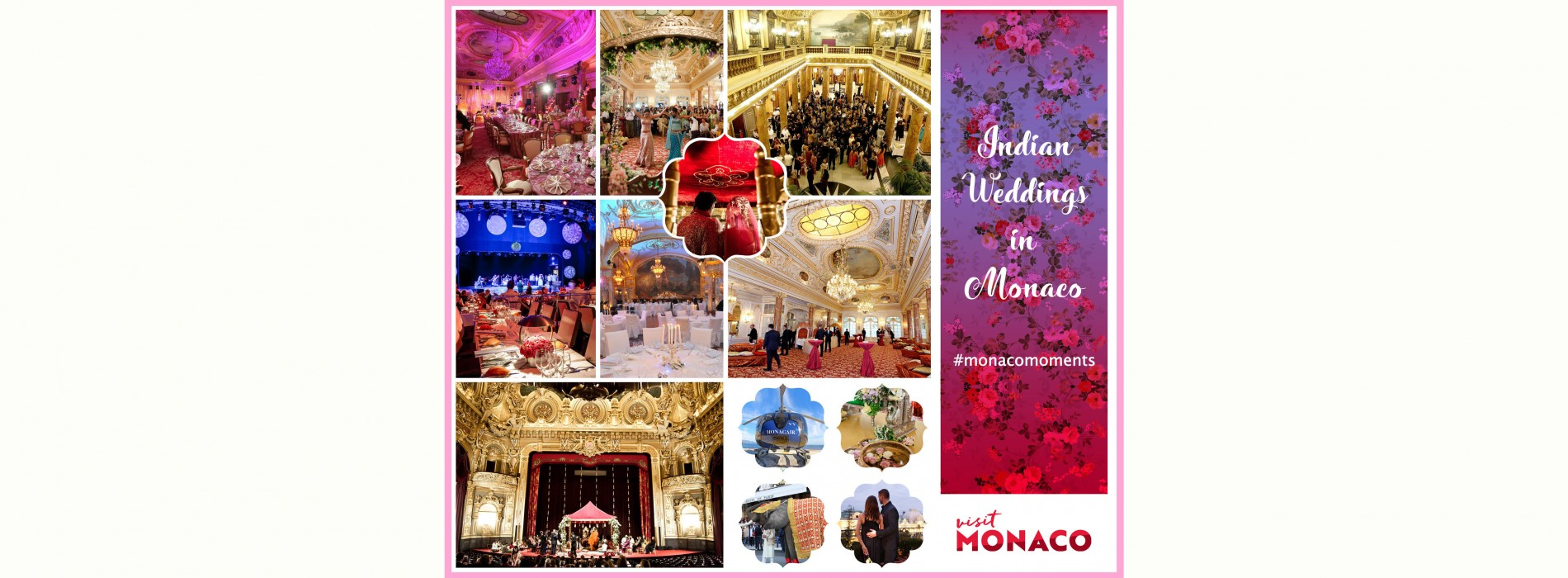Say 'I Do' in unmatched style at Monaco