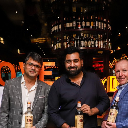 Aspri Spirits hosts a party to celebrate the launch of Tito's handmade Vodka in India