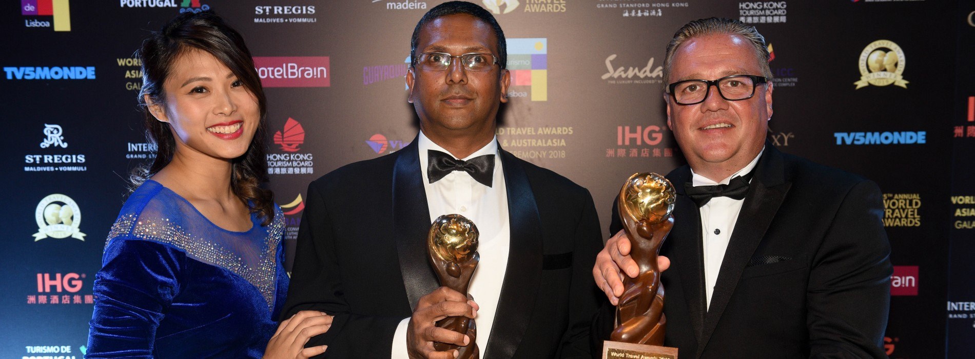 SriLankan Airlines awarded two titles at the World Travel Awards 2018 Asia & Australasia