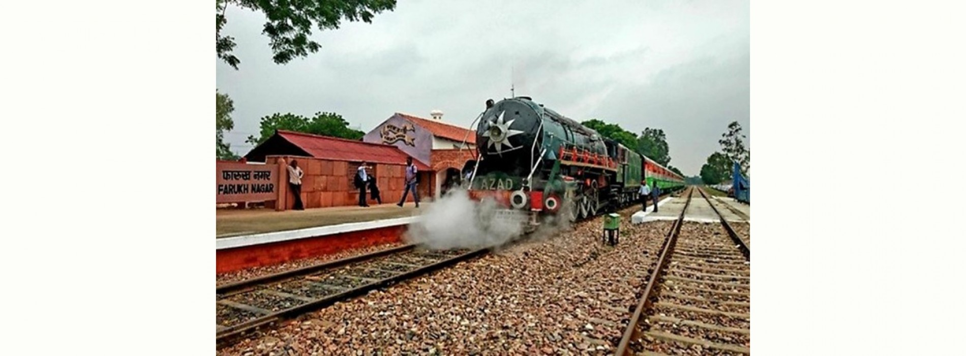Northern Railway launches heritage steam train