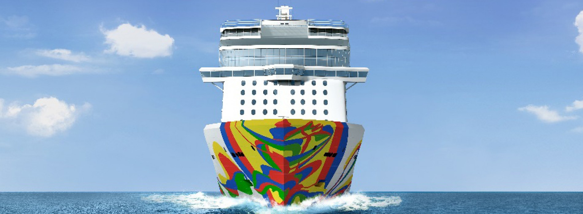 Norwegian Cruise Line unveils Hull Artwork for Norwegian Encore