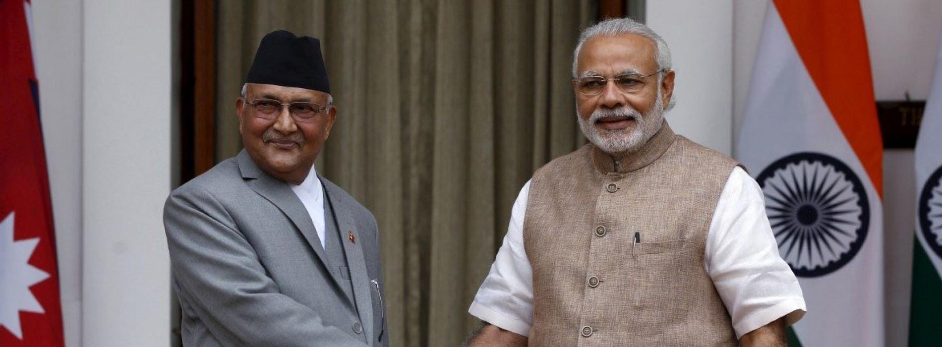 India to help Nepal construct a rail link to Kathmandu