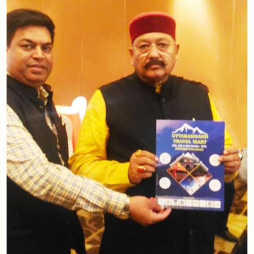 Tourism Minister of Uttarakhand launches UTM Brochure in New Delhi